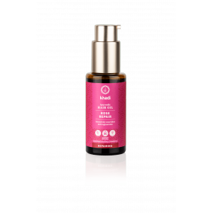 Ajurvedinis Khadi aliejus plaukams Rose Repair 50ml